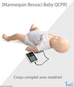 MANNEQUIN RESUSCI BABY QCPR - Bébé corps complet