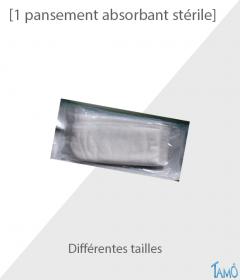 1 PANSEMENT ABSORBANT STERILE - Différentes tailles